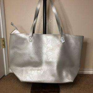 Handbags - Bath and body works snake print tote bag